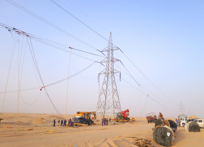 Execution of power transmission lines Projects
