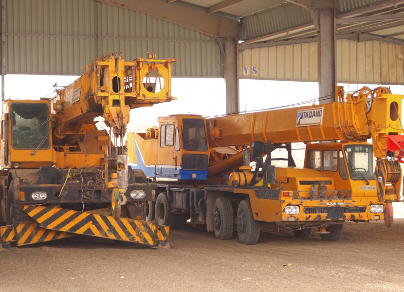 Rental of Heavy Machinery and Equipment
